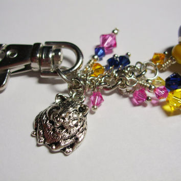 Guinea Pig Purse/Bag Charm