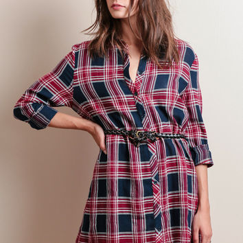 Wilkes Plaid Dress