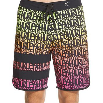 Men's Hurley 'Phantom Block Party Haze x Stecyk' Board Shorts,