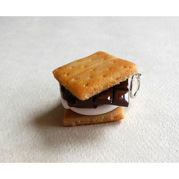 Polymer Clay S'mores Charm or Key Chain