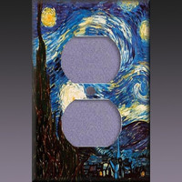 Light Switch Cover - Van Gogh Starry Night