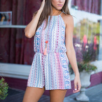 Love Me No Pattern What Romper