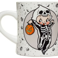 SOURPUSS KEWPIE SKELETON MUG