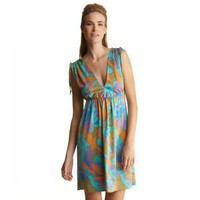 JB by Julie Brown JULES VNECK DRESS Color: Disco Size; P