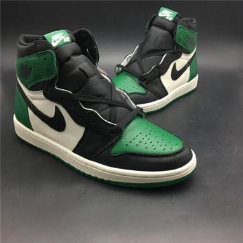 Air Jordan 1 Retro High OG Pine Green Men Sneakers - Best Deal Online