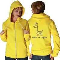 Master of Disguise American Apparel Hoodie by rainbowswirlz