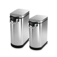 simplehuman® Pet Food Storage Cans