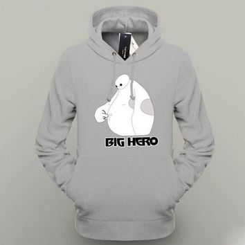 Fashion Big Hero 6 Baymax Hoodie Men Hoodie Lover's Clothes 2