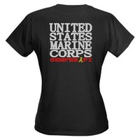 USMC Semper Fi Tee on CafePress.com