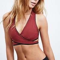Without Walls Reversible Wrap Sports Bra - Urban Outfitters