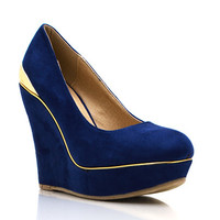 Get-Metal-ing-Wedges BLACK BLUE RED - GoJane.com