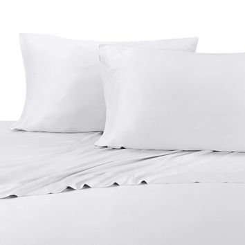 Silky Soft Bamboo Cotton Blend Hybrid Sheet Sets, Deep Pocket Sheet
