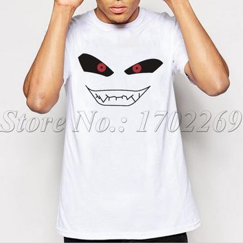 New Arrivals Majin Buu Creative Design Men t shirt Dragon Ball Z Short Sleeve Casual Tops Smiling Face Cool Tee For Men