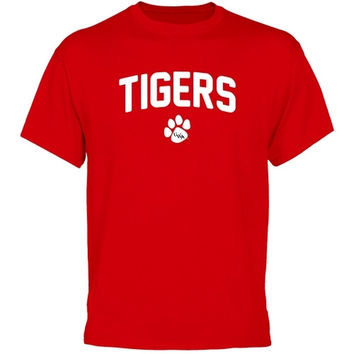 University of West Alabama Mascot Logo T-Shirt - Red