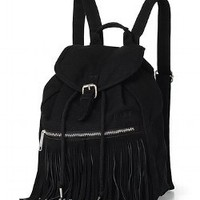 Fringe Mini Backpack - PINK - Victoria's Secret