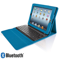 Bluetooth Wireless Keyboard Case for iPad Tablet at Brookstone—Buy now!