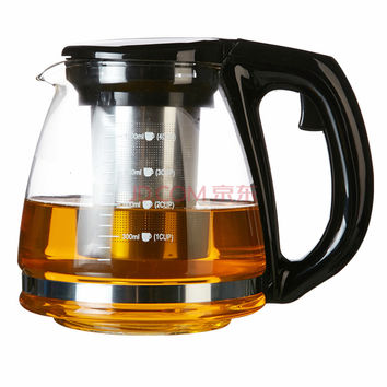 1200ML Chinese Teapot  Resistant Glass