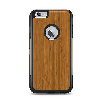 The Real Bamboo Wood Apple iPhone 6 Plus Otterbox Commuter Case Skin Set