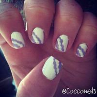 Dotted Acrylic Nails by CoccoNails on Etsy
