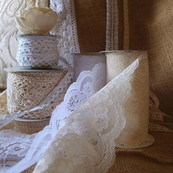 Crochet Lace Ribbon Trim Knitting Pattern Cotton Net Decorative Gift Wrap Decor