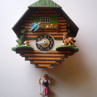Vintage Clock Made in Germany