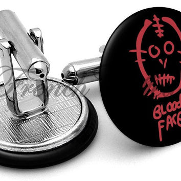 American Horror Story Bloody Cufflinks