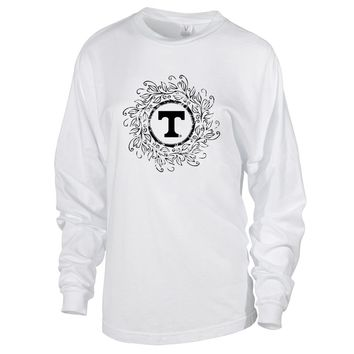 Official NCAA University of Tennessee Vols - 01AMFF18 Women's Oversized Long Sleeve Jersey Tee