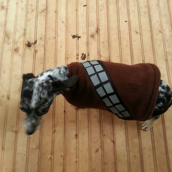 Chewbacca star wars dog coat