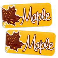 Maple Bakery Labels