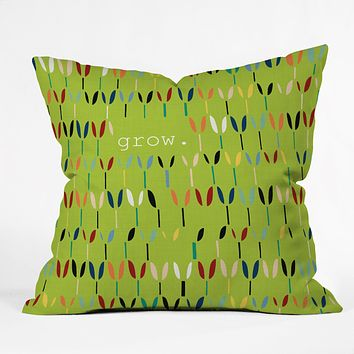 Sharon Turner Grow 1 Throw Pillow