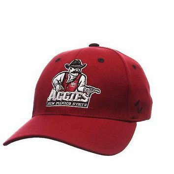 Licensed New Mexico State Aggies Official NCAA ZHS Large Hat Cap by Zephyr 411407 KO_19_1