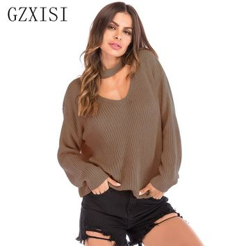 casual winter woman sweater knitting pullovers winter clothes knitted sweaters fashion women plus size femme solid