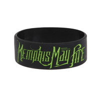 Memphis May Fire Come Alive Rubber Bracelet