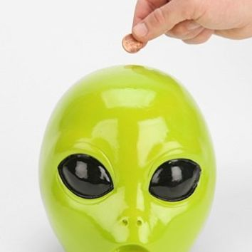 Alien Head Bank - Urban Outfitters