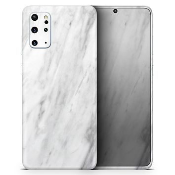 Slate Marble Surface V9 - Skin-Kit for the Samsung Galaxy S-Series S20, S20 Plus, S20 Ultra , S10 & others (All Galaxy Devices Available)