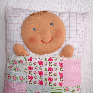 Baby Doll, Pillow Doll, Doll pillow, Doll cushion, Lovely soft cuddling doll for your baby, Child friendly, nice gift for a little girl