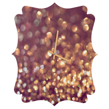 Lisa Argyropoulos Mingle 1 Quatrefoil Clock