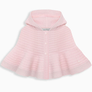 Cape in pink tricot knit - Dior