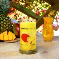 Pre-Order Pineapple Mango Ring Candle