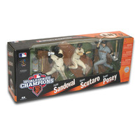 World Series Champions San Francisco Giants Championship 3 Pack