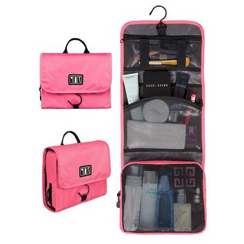 BAGSMART Waterproof Travel Toiletry Bag With Hanger