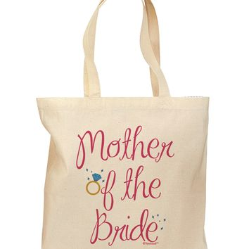 Mother of the Bride - Diamond - Color Grocery Tote Bag