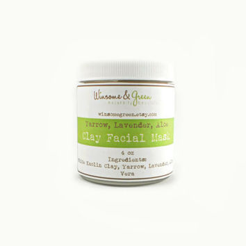 Facial Mask  Spot Treatment  Soapless Cleanser by WinsomeGreen