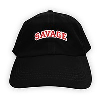 Function - Savage Men's Dad Hat Black