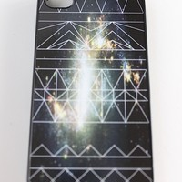 Black Galaxy Aztec Phone Case