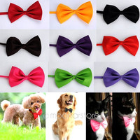 Fashion Dog Cat Pet Puppy Toy Kid Cute Bow Tie Necktie Collar