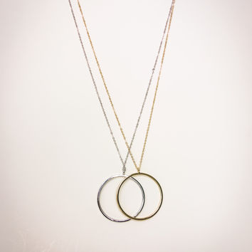 Ring Pendant Necklace