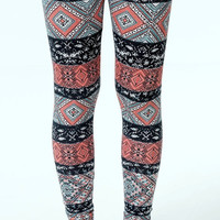 Tribal Leggings Soft and Comfortable Women Yoga Fitness Workout Pants Tights Streetwear Women Clothing