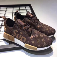 Boys & Men Adidas X Louis Vuitton Fashion Casual Sneakers Sport Shoes