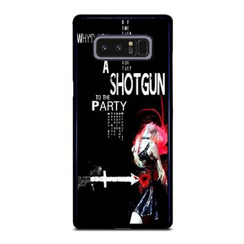 THE PRETTY RECKLESS QUOTES Samsung Galaxy Note 8 Case Cover
